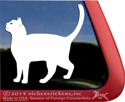 Custom  Cat Window Decal