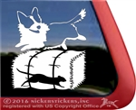 Cardigan Welsh Corgi Barn Hunt Dog Window Car Truck RV Decal