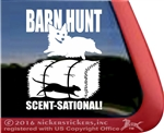 Pembroke Corgi Barn Hunt Dog Window Decal