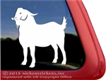 Custom Kiko Goat Car Truck RV Window Decal Sticker