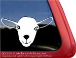 Custom Nigerian Dwarf Goat Car Truck RV Trailer Window Decal Sticker