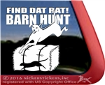 Rhodesian Ridgeback Barn Hunt Dog Window Decal Sticker