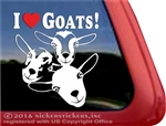 Nigerian Dwarf Goats Car Truck RV Window Decal