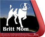 American Brittany Gun Dog Car Truck RV Window Decal Sticker