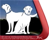 Custom Labrador Retriever Dog iPad Car Window Decal Sticker