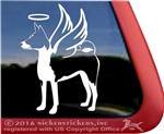 Custom Basenji Dog iPad Car Truck RV Window Decal Sticker