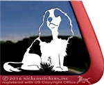 Custom Cavalier King Charles Spaniel Dog Car Truck RV Window Decal Sticker