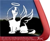 Custom Jumping Cavalier King Charles Spaniel Dog Car Truck RV Window Decal Sticker