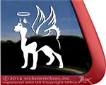 Alaskan Malamute Angel Memorial Dog Car Truck RV Window Decal Sticker