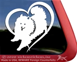 Custom American Eskimo Dog Window Decal