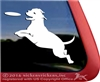 American Pit Bull Terrier Disc Frisbee Dog Car Truck RV Window Decal Sticker