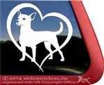 Custom Chicorgi Dog iPad Car Truck RV Window Decal Sticker