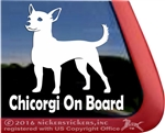Got Chicorgi Dog iPad Car Truck RV Window Decal Sticker