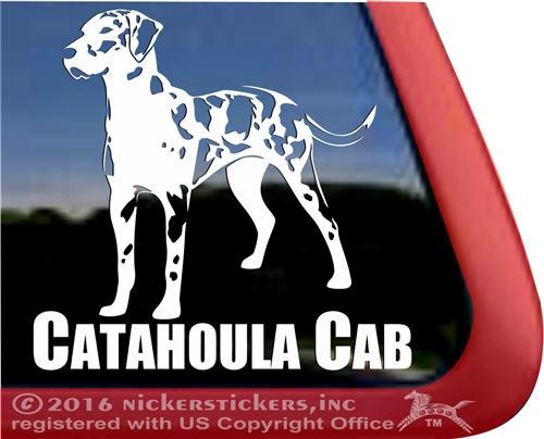 Catahoula Leopard Dog Decals Amp Stickers Nickerstickers