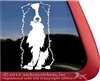 Custom Aussie Dog Australian Shepherd Car Truck RV Window Decal Sticker