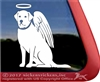 Memorial Labrador Retriever Angel Dog iPad Car Truck Window Decal Sticker
