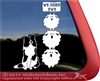 Sheltie Window Decal