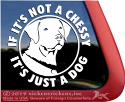 Chesapeake Bay Retriever Dog iPad Car Truck RV Window Decal Sticker