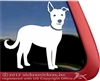 Custom Lab Shepherd Mix Dog Window Decal
