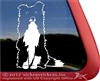 Custom Mixed Breed Dog Window Decal