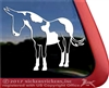 Custom Mule Car Truck Trailer RV Window Decal Sticker