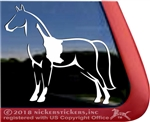 Pinto Tennessee Walker Horse Trailer Window Decal