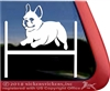 Custom French Bulldog Agility Dog Car Truck RV iPad Window Decal Sticker