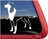 Custom Smooth Collie Dog Car Truck RV Window iPad Laptop Decal Sticker