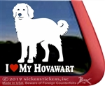 Hovawart Car Truck RV Window Decal Sticker