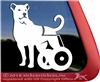 Persian Shepherd Kuchi vinyl dog window auto car truck rv laptop ipad sticker decal