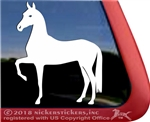 Custom Akhal-Teke Horse Trailer Car Truck RV Window Decal Sticker