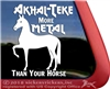Ahkal-Teke Horse Car Truck RV Window iPad Tablet Laptop Decal Sticker