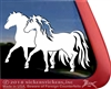 Custom Miniature Horses Vinyl Car Truck RV Trailer Window Decal Sticker
