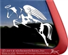 Custom Hunter Jumper Horse Trailer RV Truck Car Window Decal Sticker