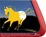 Custom Buckskin Appaloosa Window Decal