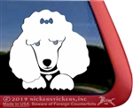 Custom Poodle iPad Car Truck Window Decal Sticker