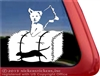 Yorkshire Terrier Barn Hunt Dog Car Truck RV Window Decal Sticker