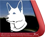 Custom German Shepherd Dog Car Truck RV Window Decal Sticker