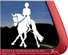 Custom Dressage Horse Side Pass Vinyl iPad Car Truck RV Window Decal Sticker