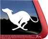 Custom Whippet Dog Vinyl Car Truck RV Window Decal Sticker