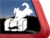 Golden Retriever Barn Hunt Dog Window Decal