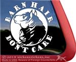 Equestrian Horse Trailer Window Decal