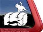 Custom Chihuahua Barn Hunt Dog Car Truck RV Window Decal Sticker