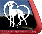 Custom Azawakh Dog iPad Car Truck RV Window Decal Sticker