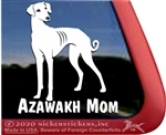 Azawakh Sighthound Window Decal