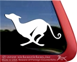 Custom Sloughi Dog iPad Car Truck RV Window Decal Sticker
