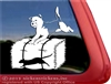 Custom Border Terrier Barn Hunt Dog Vinyl Car Truck RV Window Decal Sticker