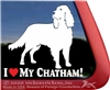 Chatham Hill Retriever Window Decal