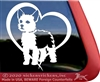 Custom Chorkie Dog Car Truck RV Window Decal Sticker
