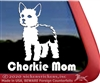 Chorkie Dog Car Truck RV Window Decal Sticker
